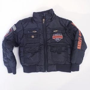 Harley Davidson Toddler Bomber Jacket